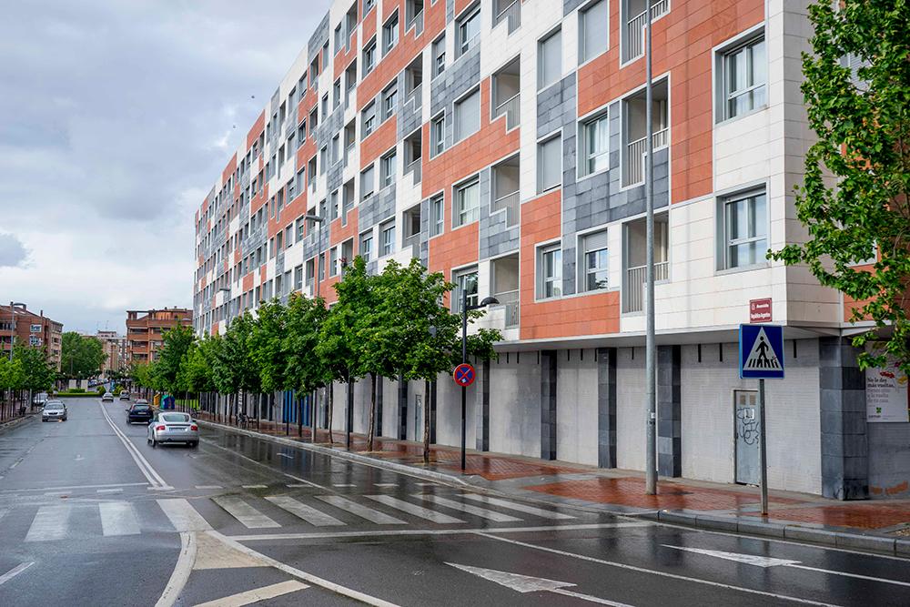 Bloque de viviendas en calle las gaunas logro o faber - Hotel las gaunas en logrono ...